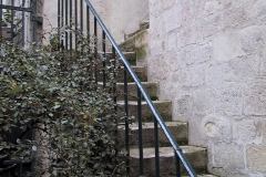 Stairs to house in Paris