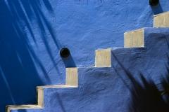 Stairs in restaurant