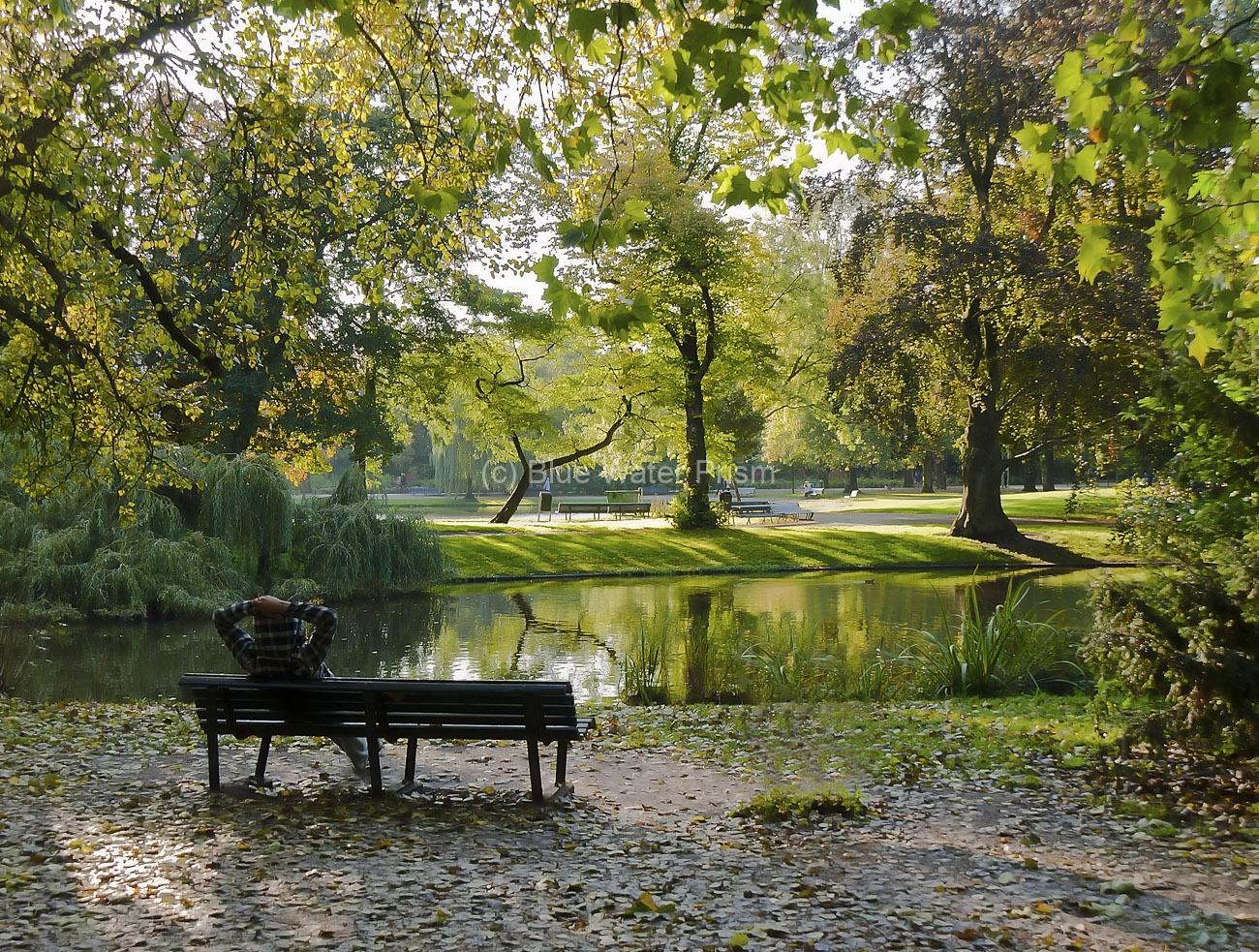 Amsterdam Netherlands park scene