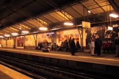 Paris subway station