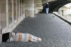 Paris homeless