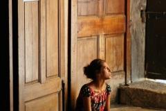 Arles Church Beggar