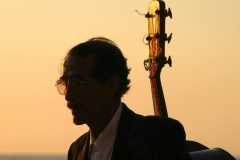 Sunset Musician