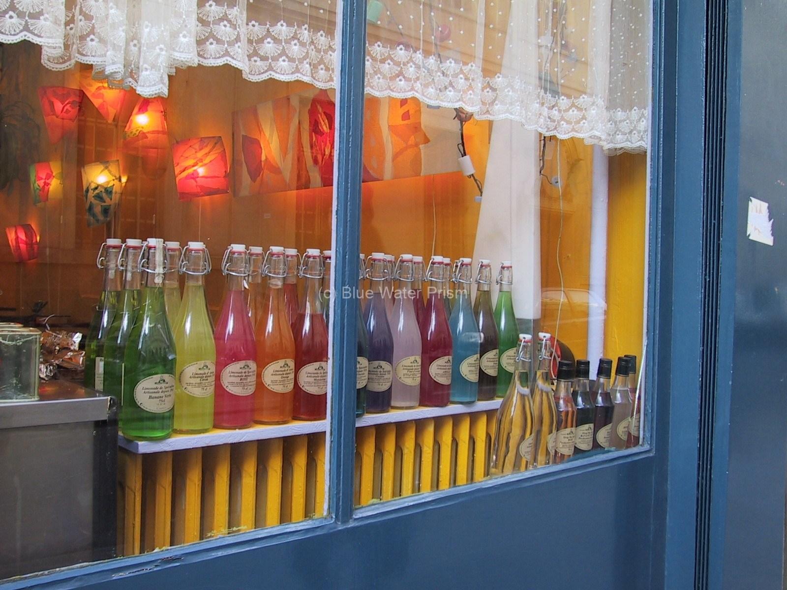 Paris shop window