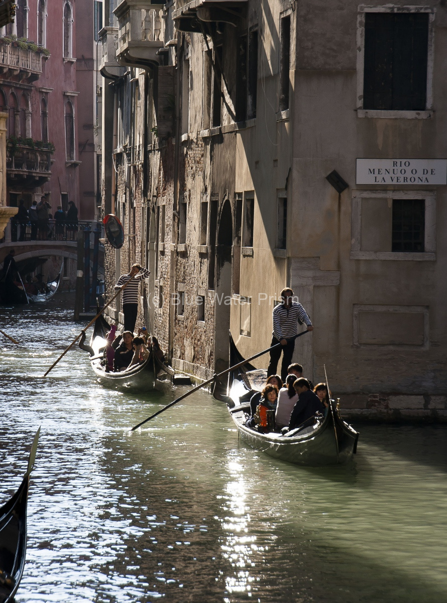 Gondola on the Venice Canals