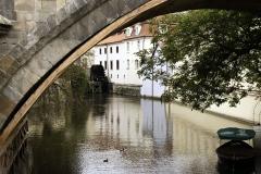 Prague Canal view