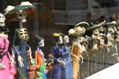 Store window Day of the Dead