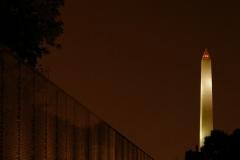 Vietnam and Washington Memorial
